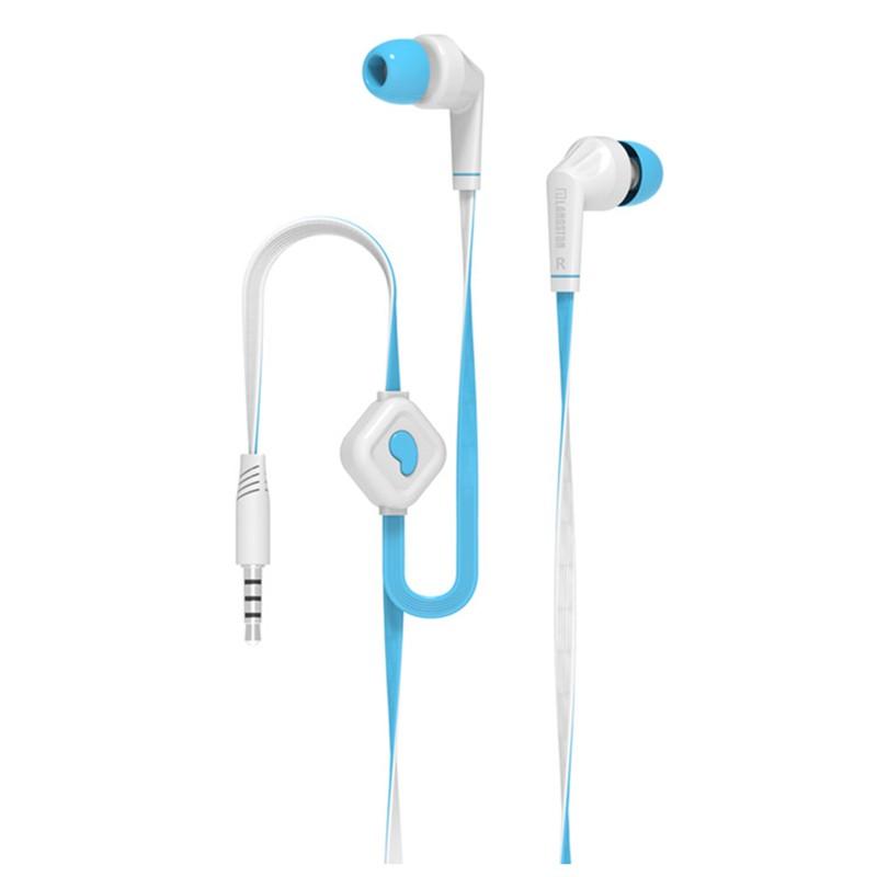 GANGXUN Blue langsdom jd88 super bass in ear headphones 3 5mm jack wired earbuds
