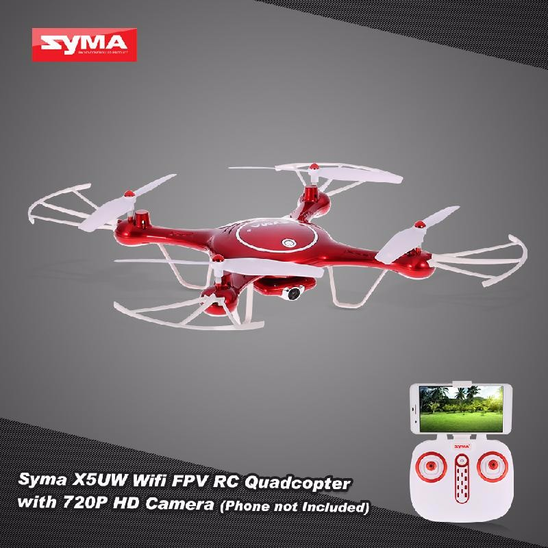 GoolRC Red original syma x5uw x5uc rc drone with wifi camera hd real time transmission fpv quadcopter 2 4g 4ch helicopter dron quadrocopter