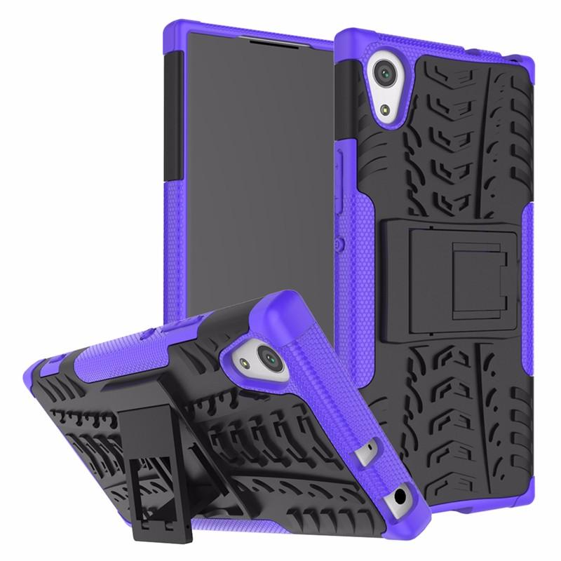 goowiiz пурпурный Sony Xperia XA1 Plus аксессуар защитное стекло sony xperia xa1 luxcase 0 33mm 82170
