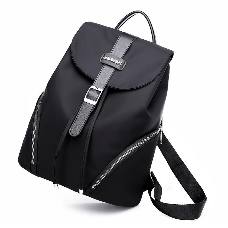 Стильный и компактный рюкзак для бизнеса Бизнес-рюкзак для бизнеса FIGHT SKY WOLF черный средний фото