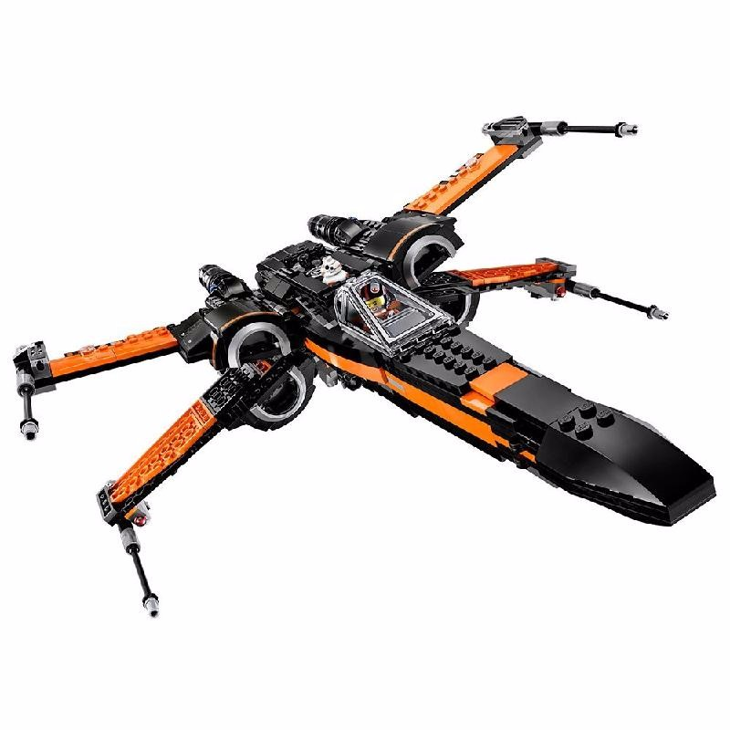 Ametoys oRange1 lepin 05055 star set war the rogue tie one usc vader advanced fighter set educational building blocks bricks toy legoing 10175