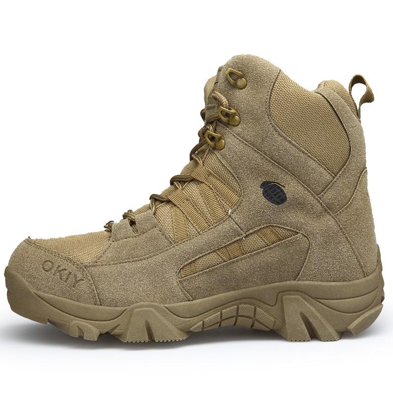SHENGSUWANG Светло-коричневый 45 новые тактический модные комфорт кожа боевые военная ботильоны армии обувь