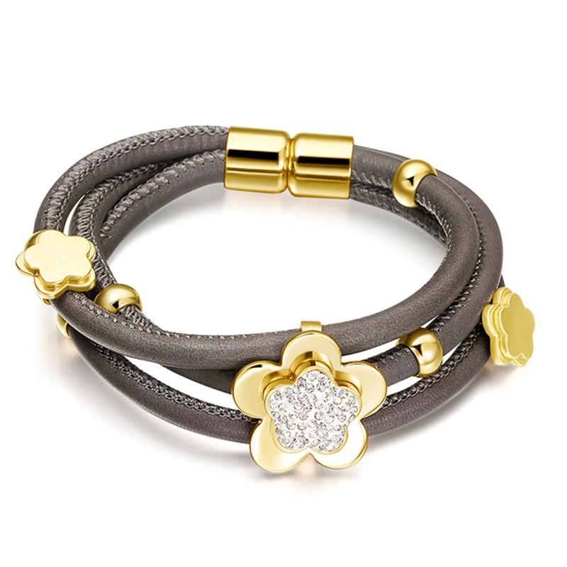 Hardart тёмно-коричневый дизайн панков турецкий браслеты для глаз для мужчин женщины новая мода браслет женский сова кожаный браслет камень