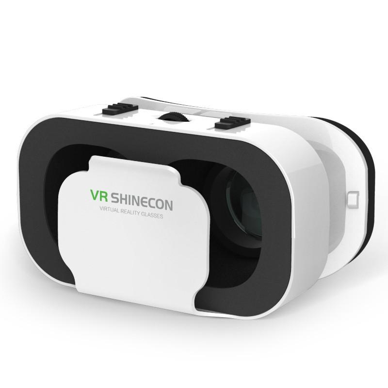 JYSS Белый цвет горячая 2016 google картон vr shinecon pro версия vr виртуальная реальность 3d очки смарт bluetooth беспроводной пульт дистанцион