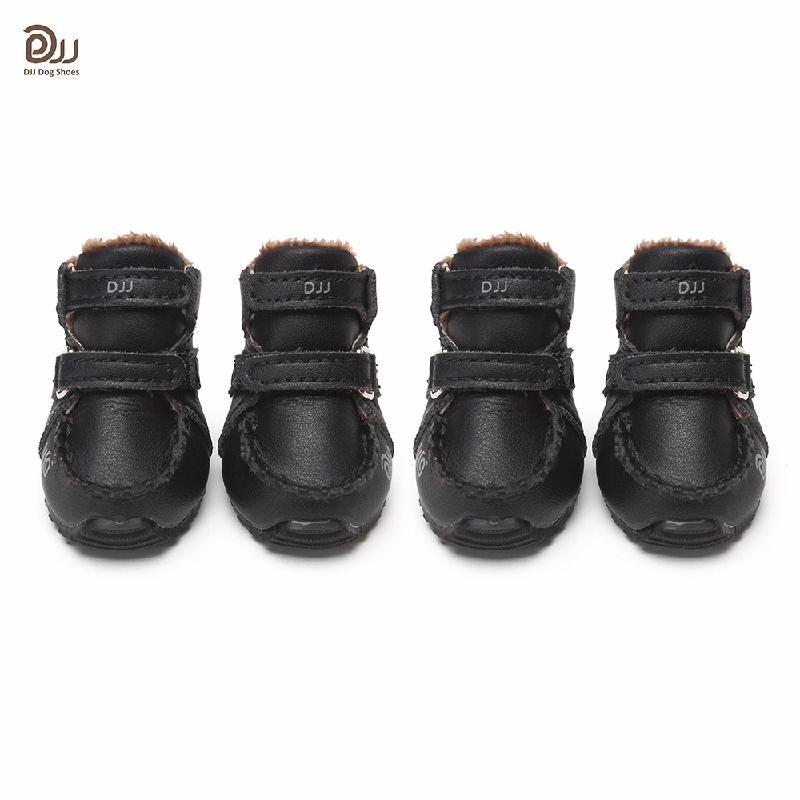 HOMEGEEK Black S обувь для собак dezzie пинки