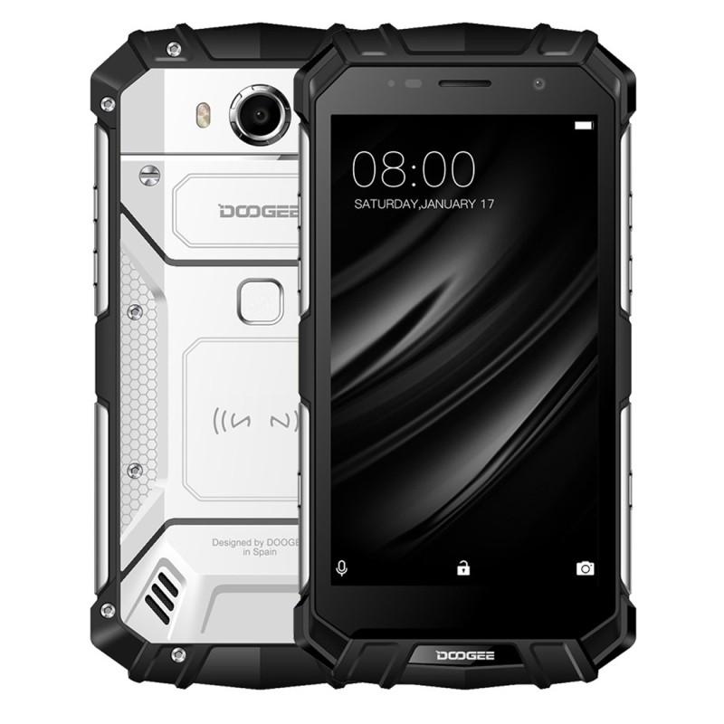 Телефон DOOGEE S60 Lite с тройным подтверждением 4GB 32GB NFC OTA DOOGEE Лунный серебристый свет Евровилка фото