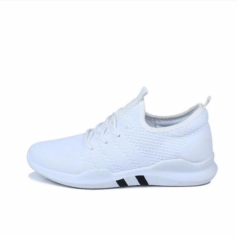 AILOOGE ОДИН белый 8 2017 wholesale hot breathable mesh man casual shoes flats drive casual shoes men shoes zapatillas deportivas hombre mujer