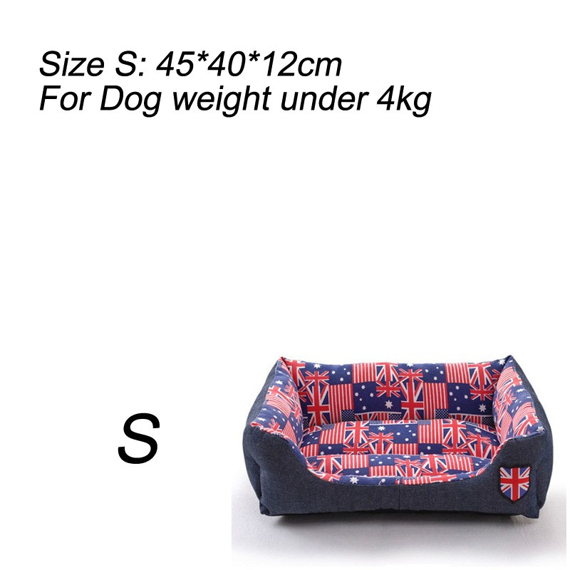 Letskeep синий M ydl y4gw16hlh m fashionable lotus style nest bed for pet cat dog pink multi colored size m