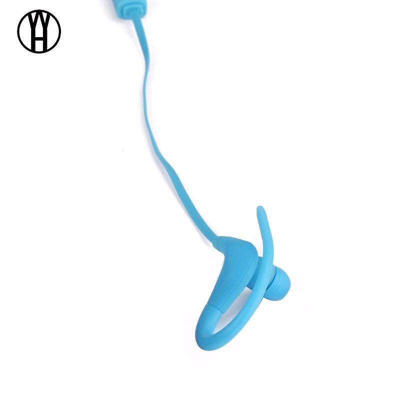 WH Синий цвет беспроводная связь bluetooth стерео гарнитура спортивные наушники наушники для smartphone