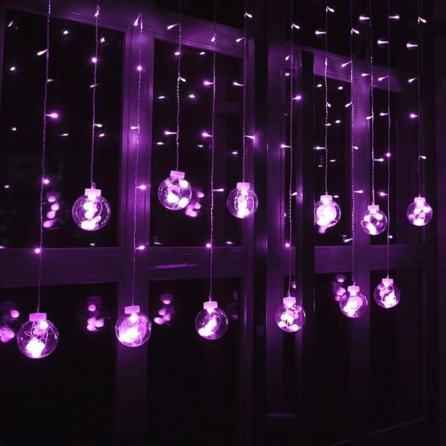 LUOMU Фиолетовый luomu multi color 220v eu plug