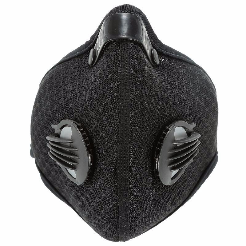 Lixada черный n3600 360 degree anti dust single chemical gas respirator mask grey