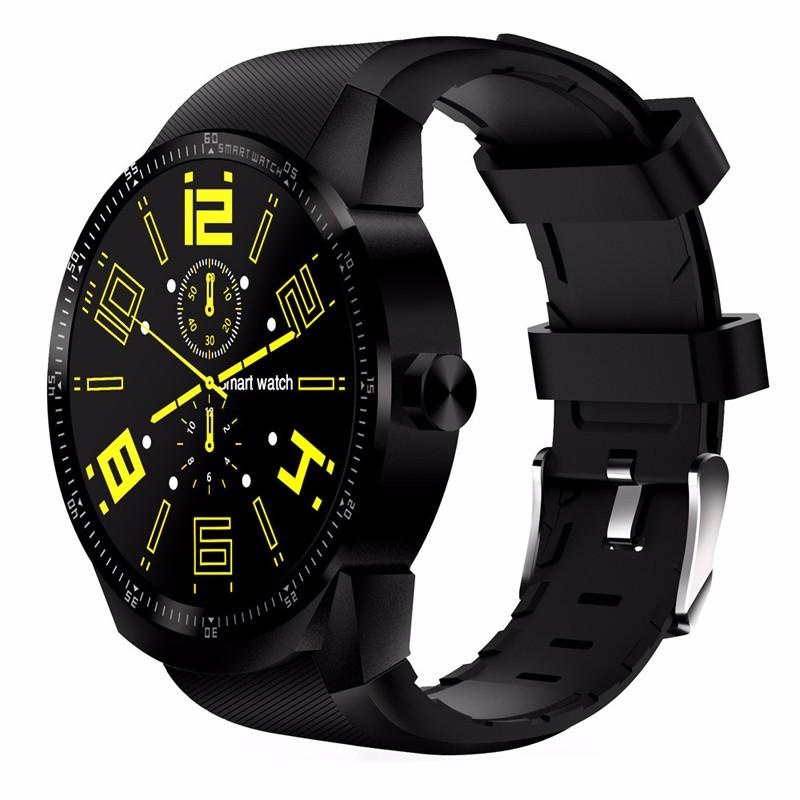 chkj черный 45 мм slimy k98h sim smart watch heart rate monitor smartwatch android 4 4 mtk6572a pedometer bracelet with 3g gps smartwatch stock