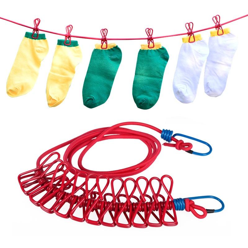 JD Коллекция веревка с зажимами одежда