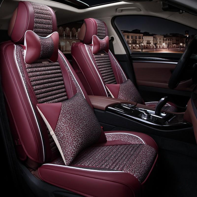 Автокресла автомобильные аксессуары для салона автомобильные сиденья коврики сидения для автомобилей To Your Taste auto accessories Красное вино Свежий стиль фото
