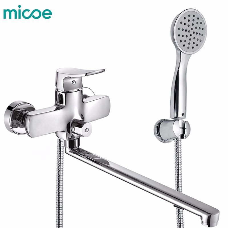 micoe H-HC605 micoe корабли из россии chrome однорычажный смеситель для ванной комнаты с монолитным смесителем смеситель для мойки с выдвижным я