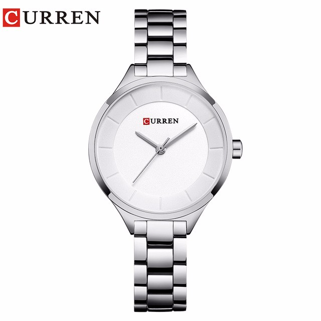 CURREN 02 curren 9015 watch women casual fashion quartz wristwatches ladies gift creative surface relogio feminino rose blue