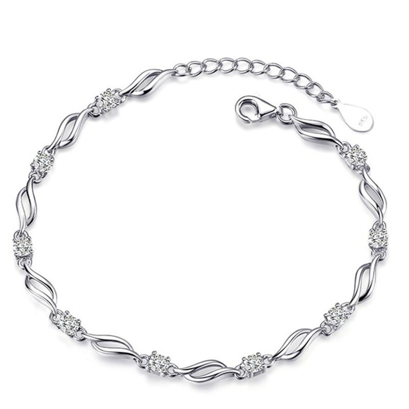 SHDEDE White мода ювелирные изделия медь мужчины и женщины любовь браслеты браслеты гвозди манжеты браслеты ювелирные изделия