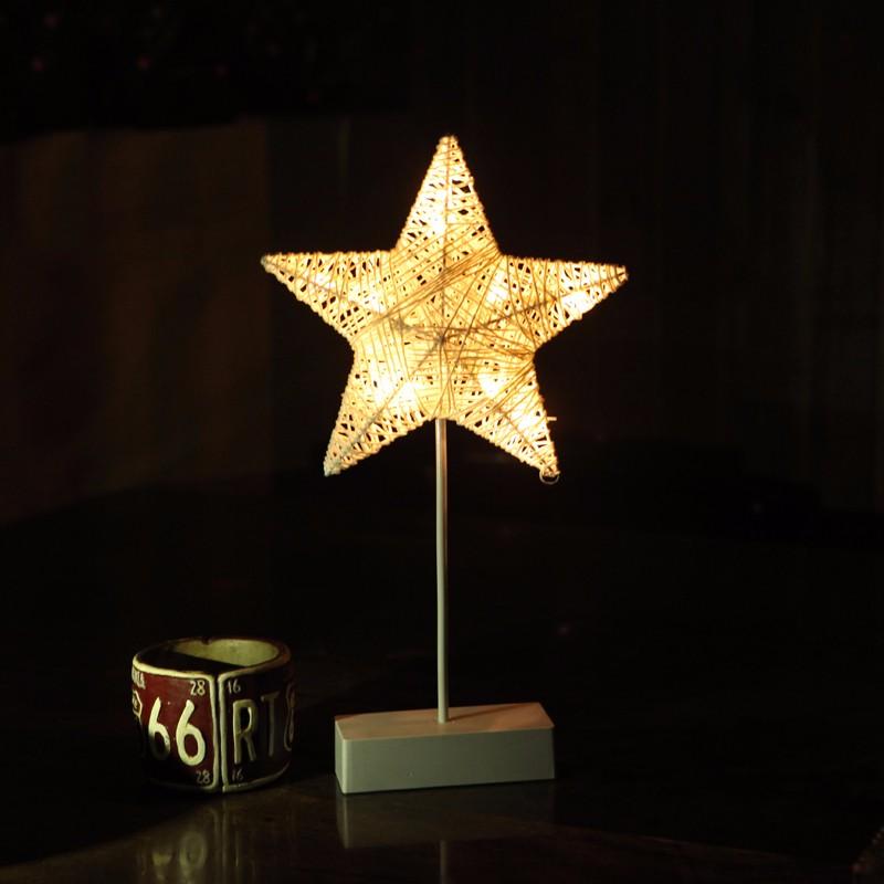 LUOMU звезда Теплый белый jiaderui ballon led night lamp wooden table light for kids gift bedside bedroom living room indoor lighting home decoration