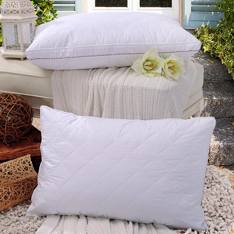 JD Коллекция Мягкая подушка вышитая глубокий сон 70 45 jd коллекция капок подушка односторонняя 45 70см