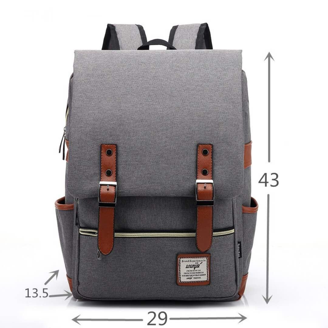 ASLED Серый цвет 14 дюймов рюкзак juicy сouture рюкзак