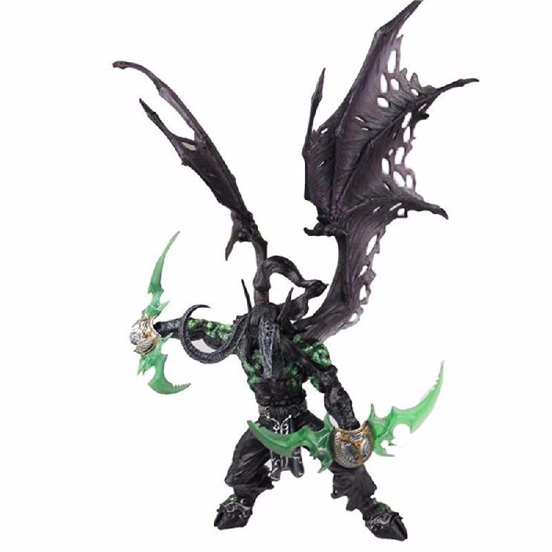 Ametoys 3-6 лет wow world of illidan stormrage action figure toy doll model statue
