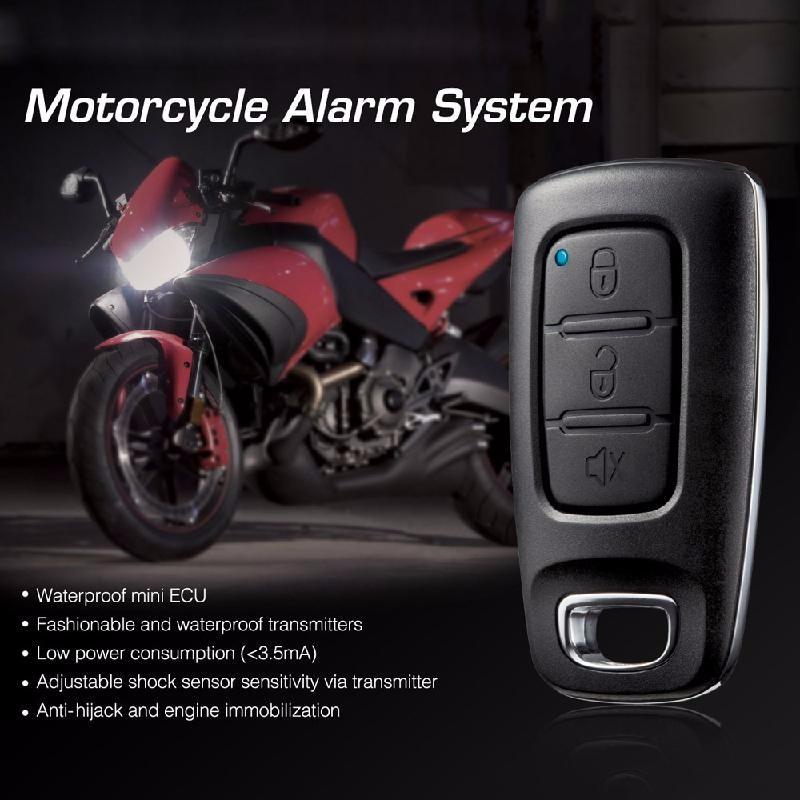 meterk Black syd 4 one way car alarm system black