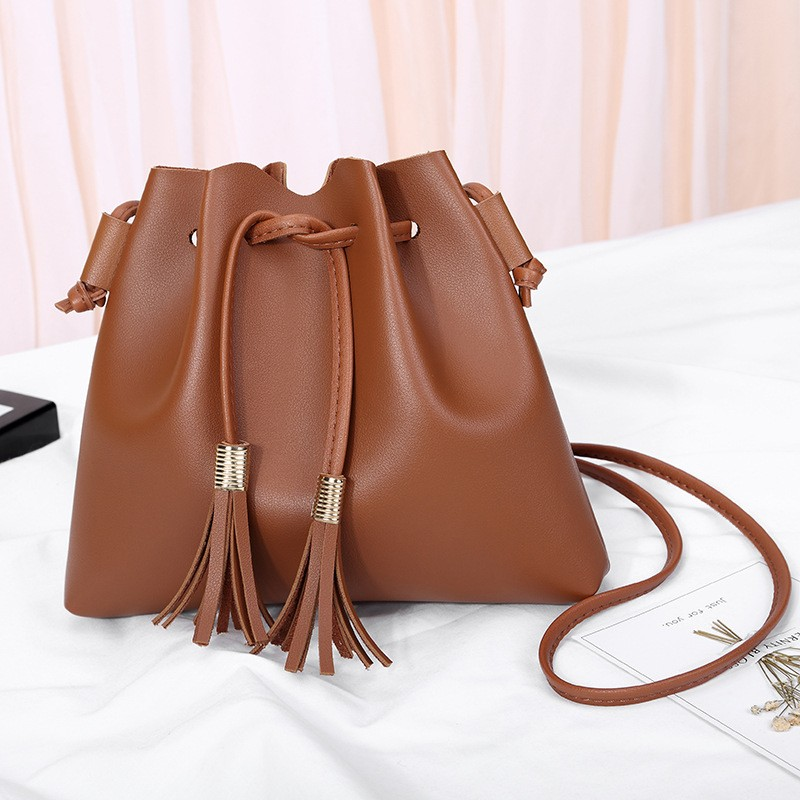 Giantex коричневый женщины pu кожа сумочкакожаные сумки messenge