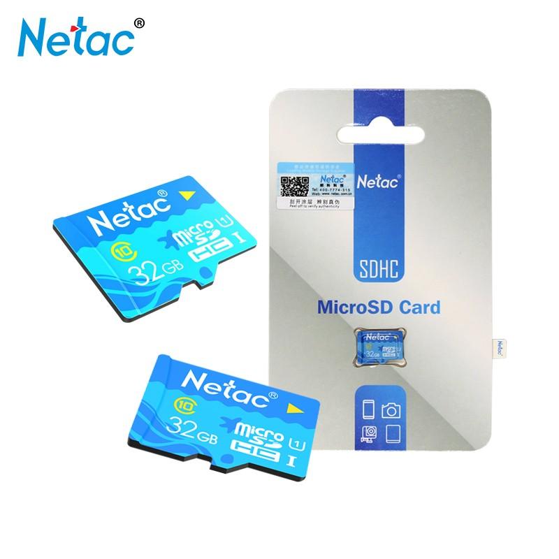 Netac Синяя карта 32GB ov карта памяти для мобильного телефона