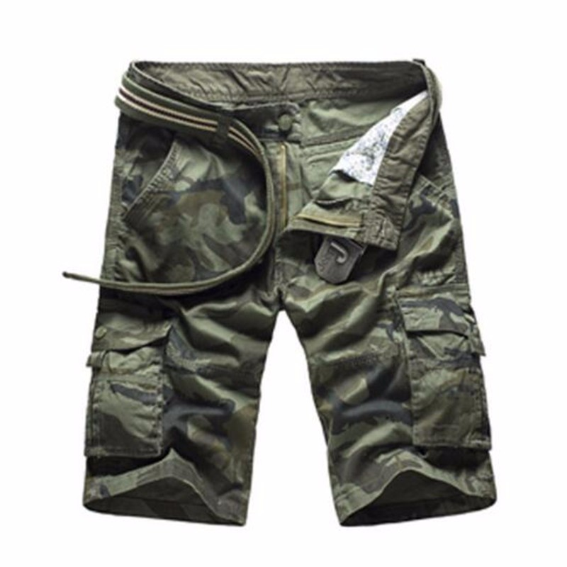 AILOOGE Green camo 30 1 6 bjd doll daily suspender shorts pants blyth azone licca momoko