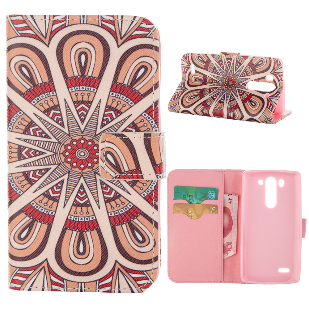 MOONCASE mooncase sony xperia z5 compact z5 mini чехолдля flip leather foldable stand feature [pattern series] a18