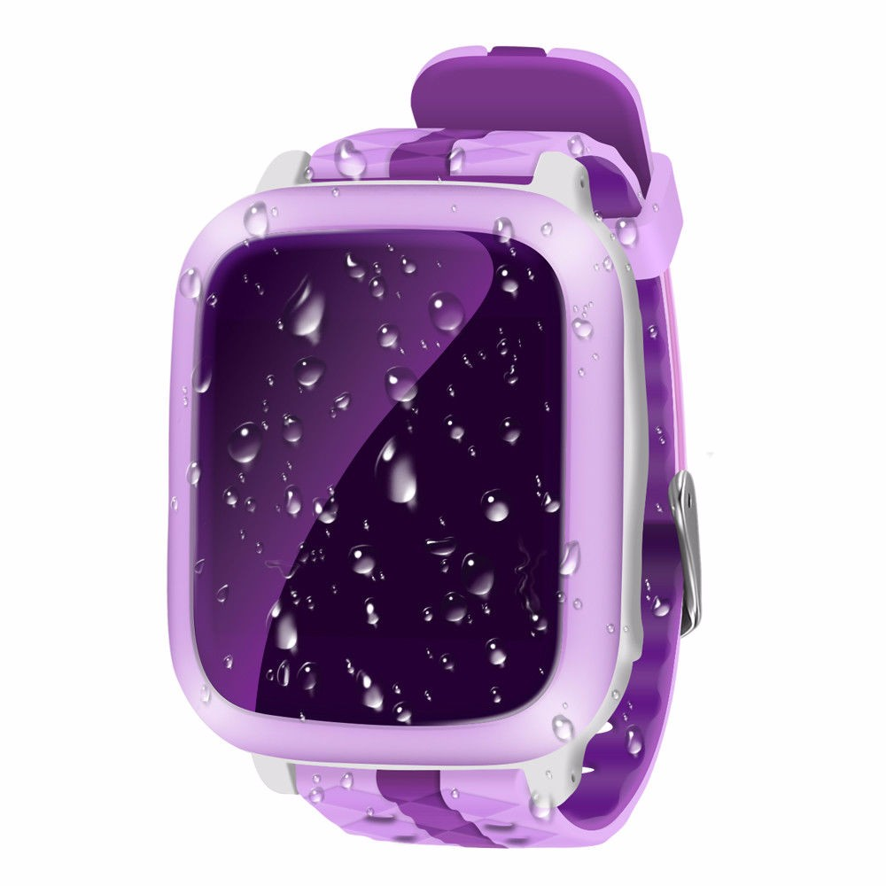 cavour Розовый children smart watch ds18 gpm gps wifi locator tracker kids wristwatch waterproof sos call smartwatch child for ios android f19