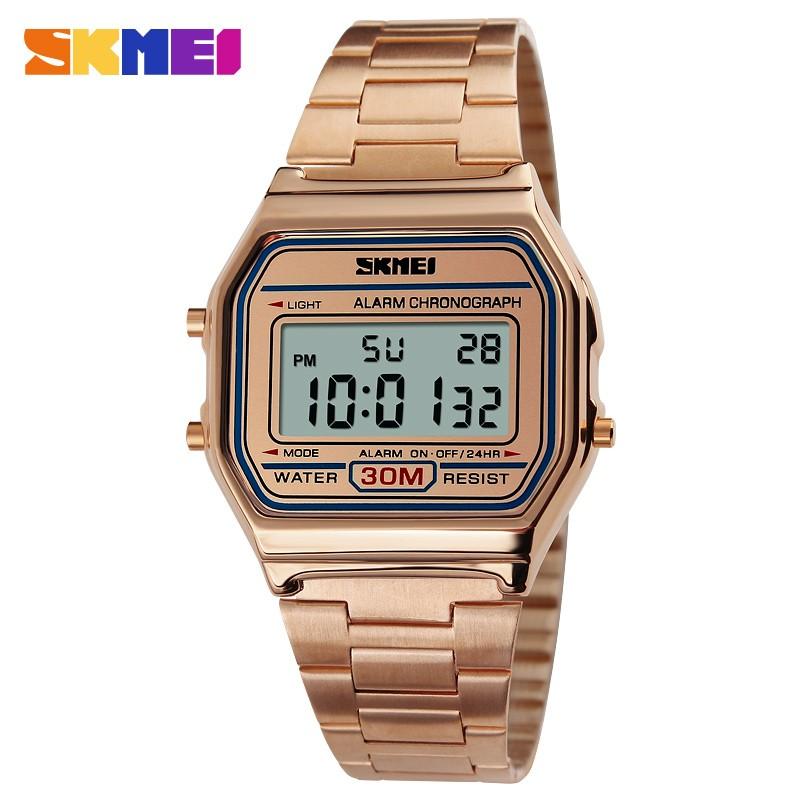 SKMEI Розовое золото часы skmei мужские 1155