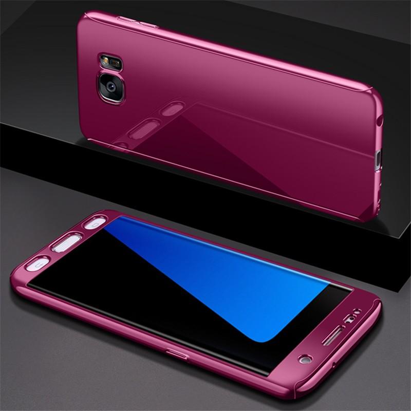 GANGXUN Пурпурный Samsung Galaxy S7 red line ibox crystal чехол для samsung galaxy s7 edge clear