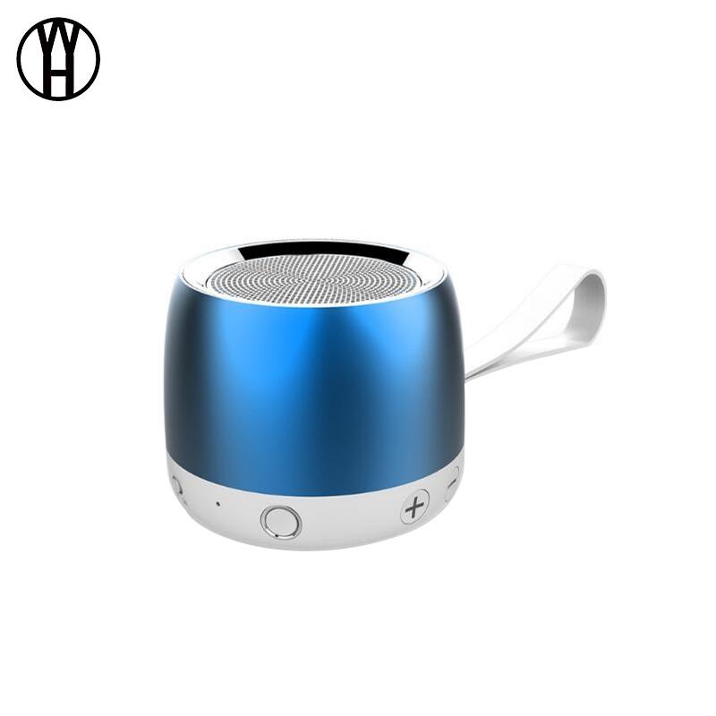 WH Синий цвет H17 Портативный громкоговоритель для сабвуфера