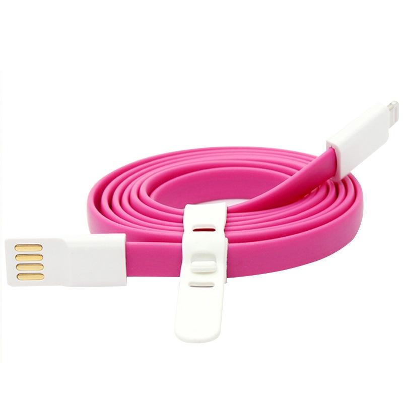 JD Коллекция Розовый красный 22cm (cabos)дата кабель iphone5 6 5s pad4 air2 зарядный кабель