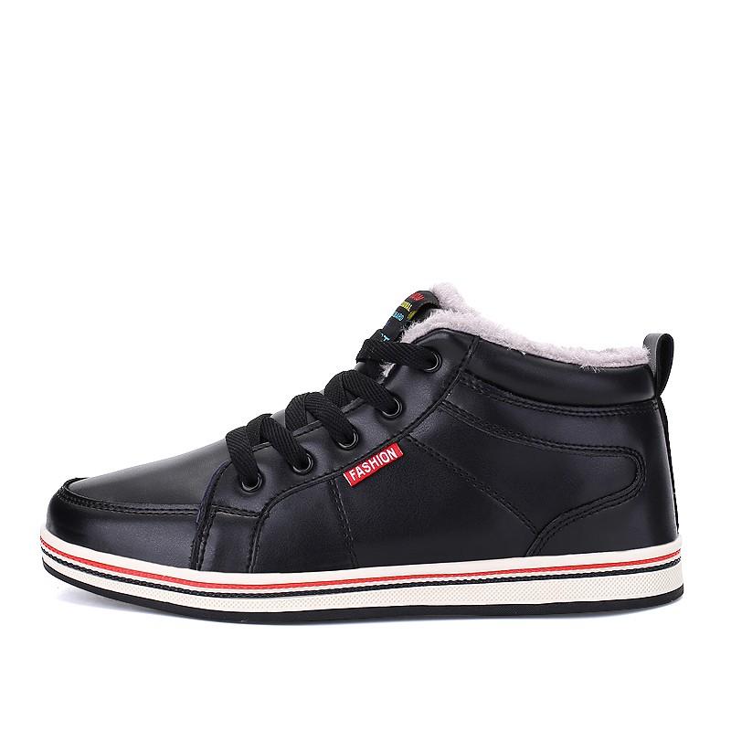 Хлопчатобумажные туфли Снежные сапоги Dayocra черный 12 фото