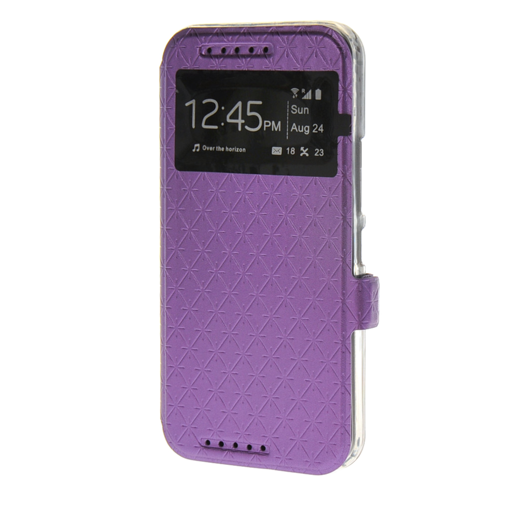 MOONCASE mooncase чехол для iphone 6 plus 5 5 pu leather flip wallet card slot stand back cover purple