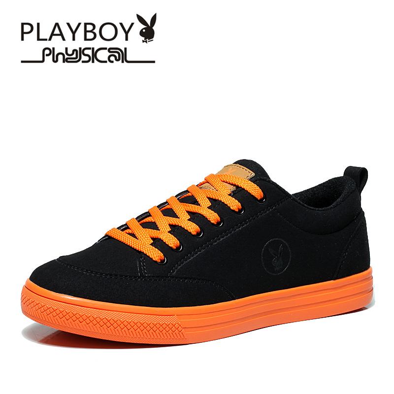PLAYBOY Чёрный цвет 9 ярдов плейбой бренд отдых спорт корейски мужские ботинки