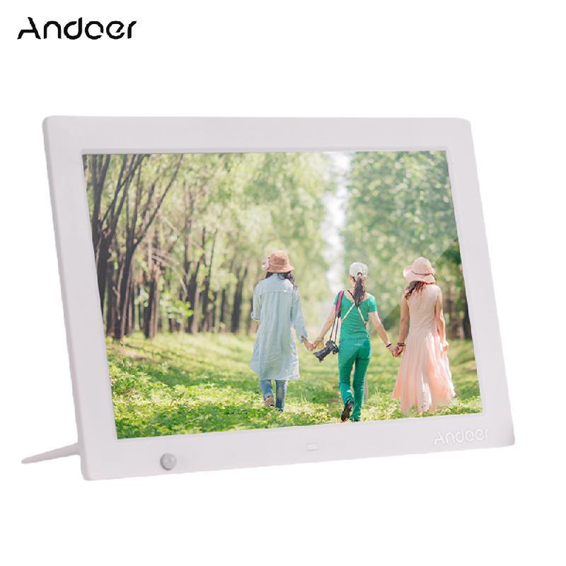 Цифровая фоторамка ANDOER White Стандарт США фото