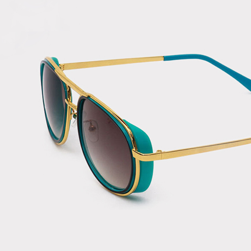 FEIDU feidu 2015 brand designer high quality metal sunglasses women men mirror coating лен sun glasses unisex gafas de sol