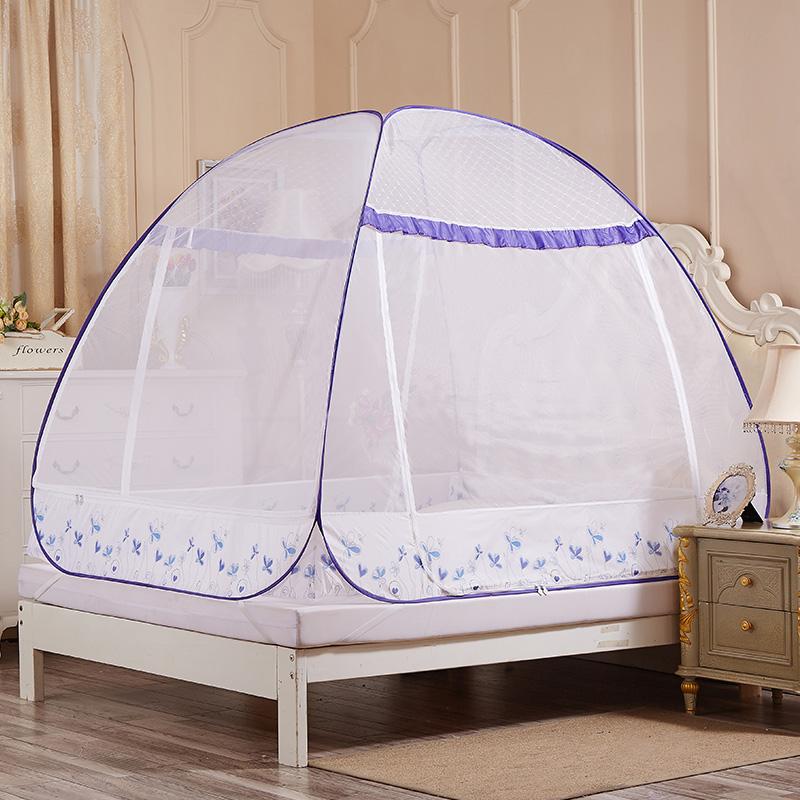 JD Коллекция Трехдверный - Синий Применимое 15 м кровать окна москитные сетки