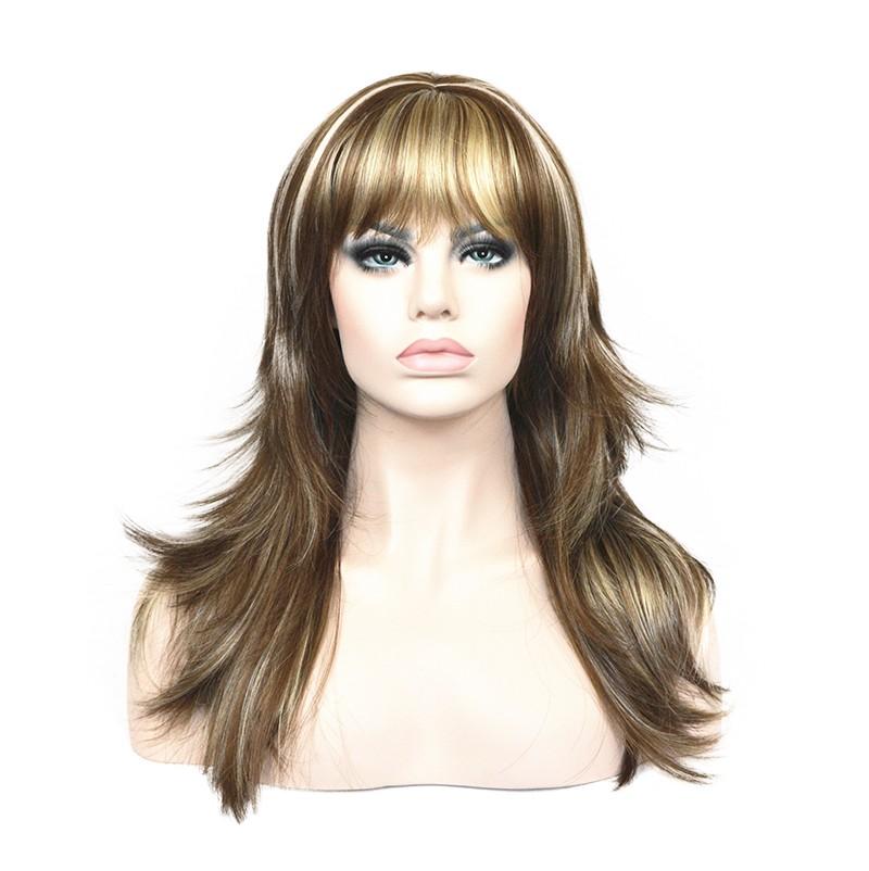 Длинные волнистые парики цвета длинные черные парики длинные коричневые парики длинные каштановые парики StrongBeauty 12TT26 Длинный фото