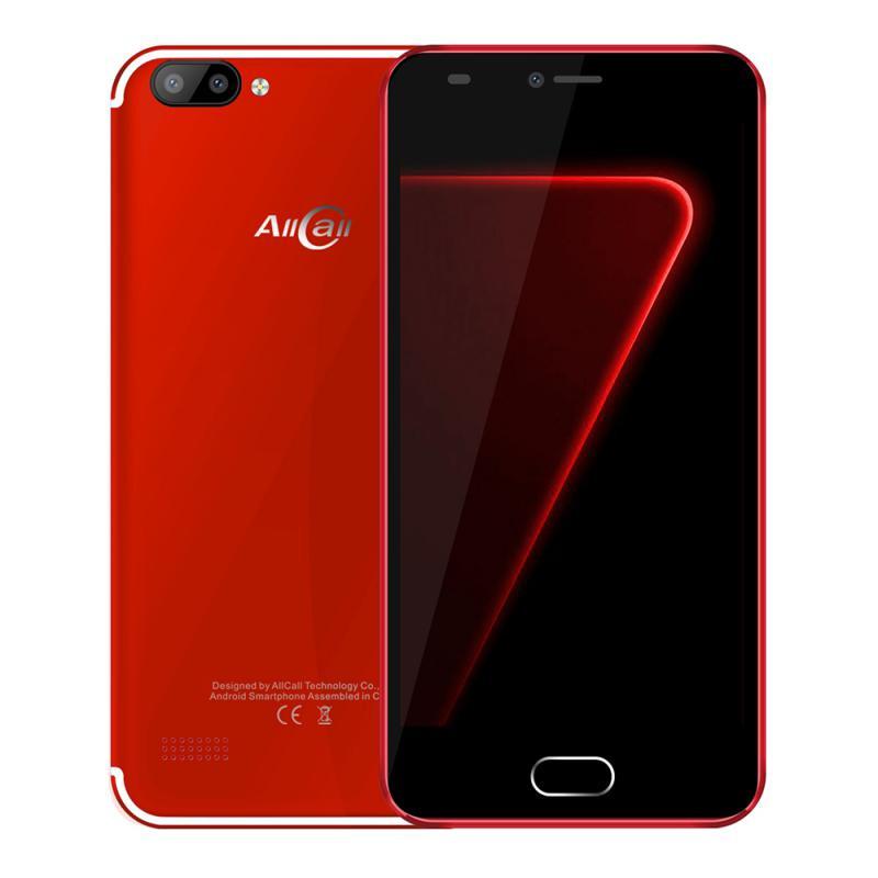 GBTIGER красный bluboo d2 3g smartphone 1gb ram 8gb rom двойные задние камеры 5 2 дюймовый android 6 0 quad core mtk6580a