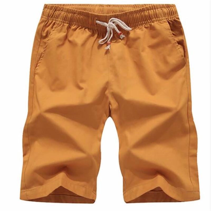 AILOOGE желтый L shengui дворянские дорогие мужские летние льняные дышащие случайные шорты голубой l hwddk606