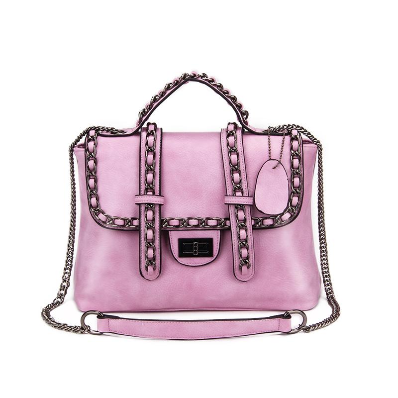 Aliwilliam Розовый цвет роскошные женщины пу кожа сумочку дизайнер пикабу сумку носить сумку с плеча посланника высокого качества шарф замок сумки моды сумку