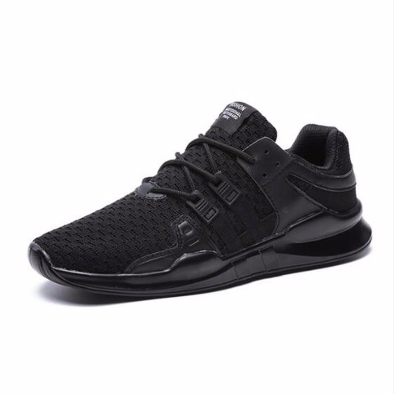 AILOOGE Два черных 7 2017 wholesale hot breathable mesh man casual shoes flats drive casual shoes men shoes zapatillas deportivas hombre mujer