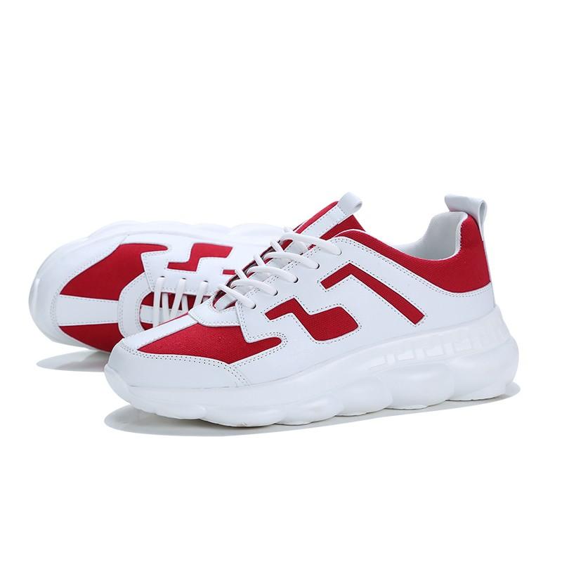 Обувь мужчины кроссовки мужчины повседневная обувь работа обувь обувь luoweikedeng Red 43 фото