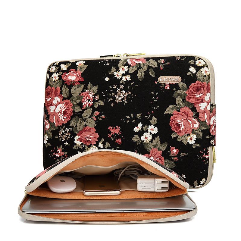 Самый новый чехол для ноутбука Kayond для ноутбука 11 13 14 15 Сумка для ноутбука для MacBook CAROLING ANGEL 10 14 дюймов фото