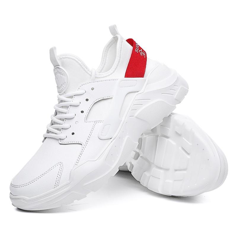 Осенние белые кроссовки мужские случайные белые туфли KAWEIDA White 40