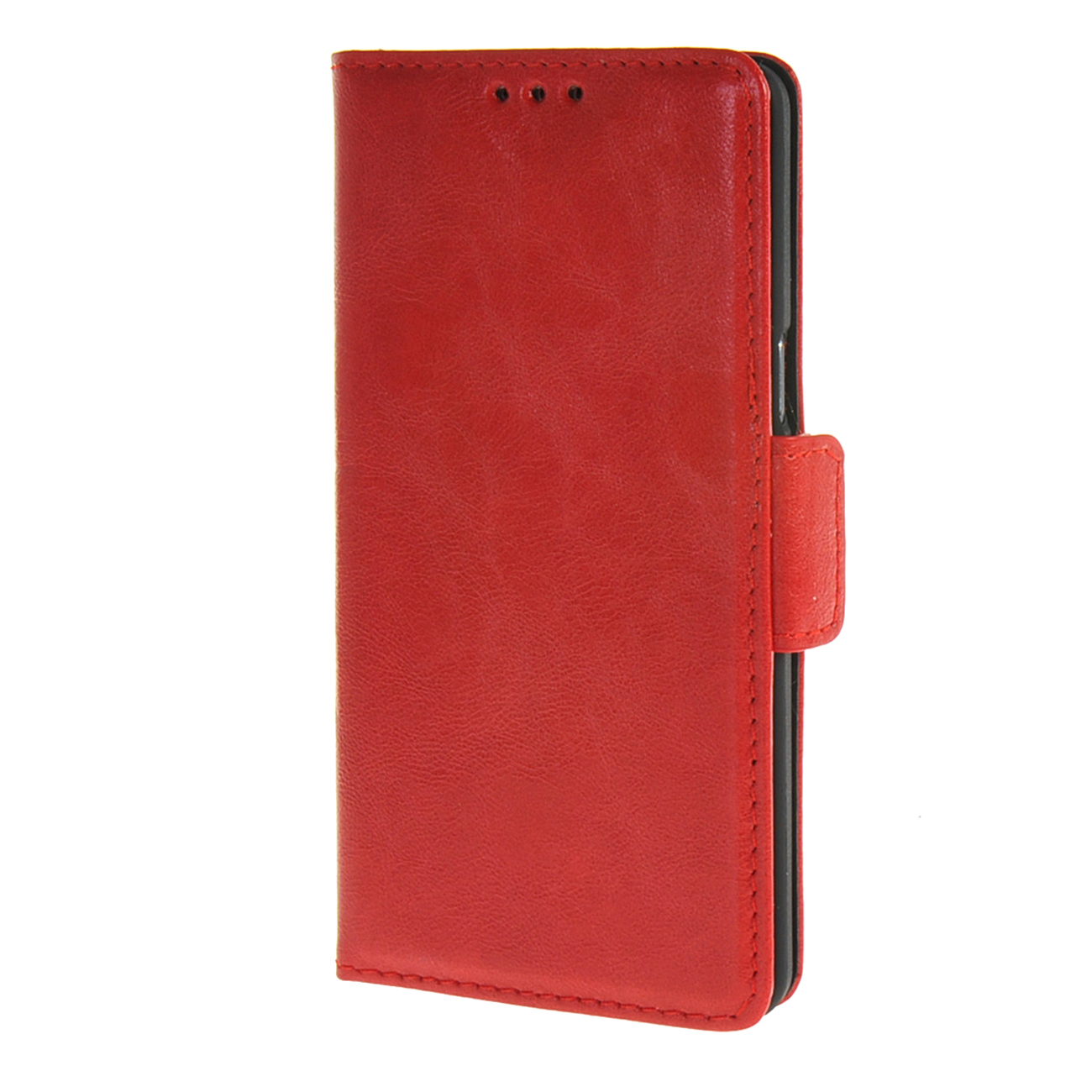 MOONCASE mooncase slim leather side flip wallet card slot pouch with kickstand shell back чехол для lg l bello d331 d335 red